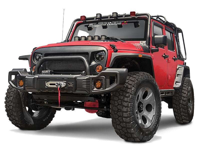 Picture of Jeep Wrangler JK Front Bumpers & Bullbars