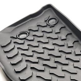 Image of a Jeep Wrangler Jeep Wrangler JK Floor Mats (Deep Dish Design) for 4-Door Wrangler