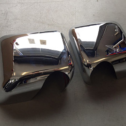 Image of a Jeep Wrangler  Pair of Chrome Color Mirror Cover