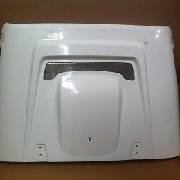 Image of a Jeep Wrangler AEV Style FRP Bonnet Front Hood Body Kit