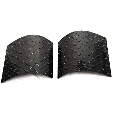 Image of a Jeep Wrangler  Premium Side Cowl Cover (Plastic)