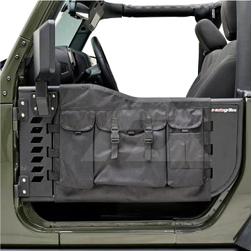 Image of a Jeep Wrangler  2 Door Tubular Doors With Mirror and pocket
