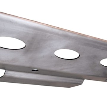Image of a Jeep Wrangler  PS Style Front Skid Plate Under Cover Engine Guard Board