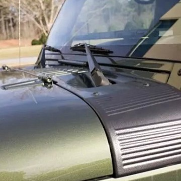 Image of a Jeep Wrangler  1xPair Body Armor Side Cowl Cover