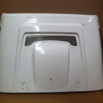 Image of a Jeep Wrangler Bonnets AEV Style FRP Bonnet Front Hood Body Kit