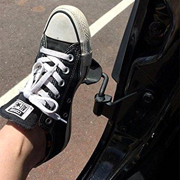 Image of a Jeep Wrangler  2 Pieces Steel Foot Rest Pegs Pedal