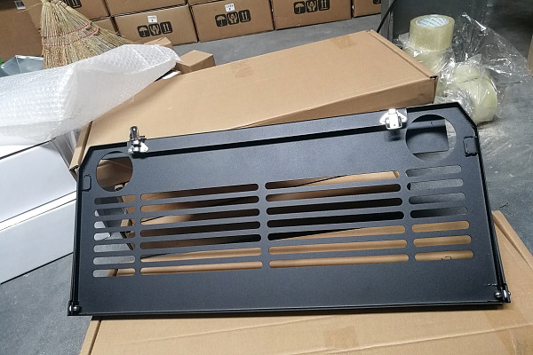 Picture of a Jeep Wrangler 2019~ JL Tailgate Foldable Table
