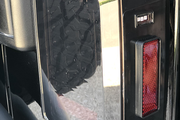 Picture of a Pair Black Diamond (2nd Gen) Black LED Tail Lights 0122