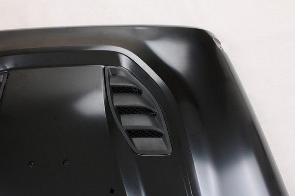 Picture of a Rubicon Power Dome 10th Anniversary Style Steel Bonnet