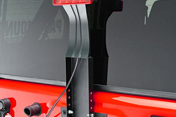 Picture of a Elevated CHMSL Third Brake Light Mounting Bracket